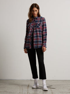 Street Dreaming Long Sleeve Flannel