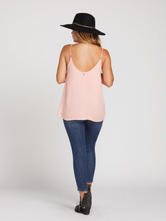 You Want This Top In Coral Haze, Back View