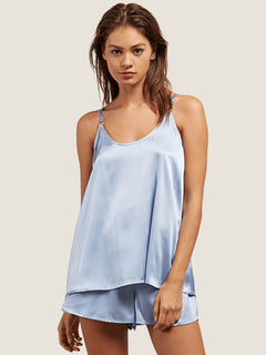 You Want This Top In Misty Blue, Front View