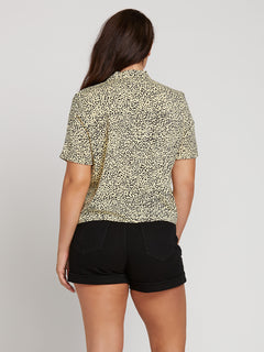 Gen Wow Short Sleeve Shirt In Leopard, Back Extended Size View