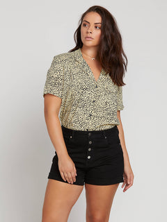 Gen Wow Short Sleeve Shirt In Leopard, Alternate Extended Size View