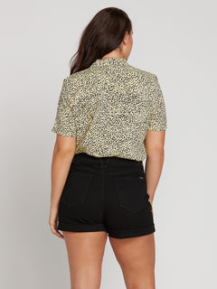 Gen Wow Short Sleeve Shirt In Leopard, Second Alternate Extended Size View