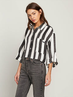 Stripe N Stone Long Sleeve Shirt