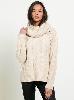 Snooders Sweater In Oatmeal, Front View