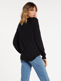Over N Over Sweater - Black Combo (B0741908_BLC) [B]