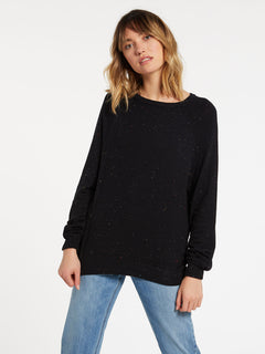 Over N Over Sweater - Black Combo (B0741908_BLC) [F]