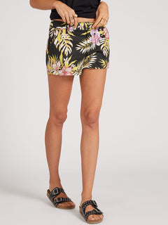 Frochickie Shorts - Black Floral Print (B0911800_BFP) [19]