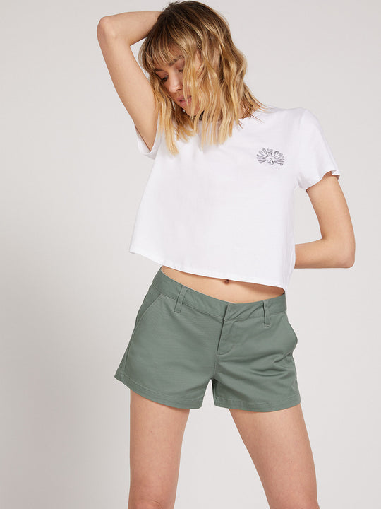 Frochickie Shorts - Forest Green (B0911800_FGR) [F]
