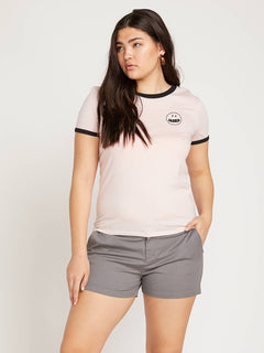 Frochickie Shorts In Heather Grey, Alternate Extended Size View