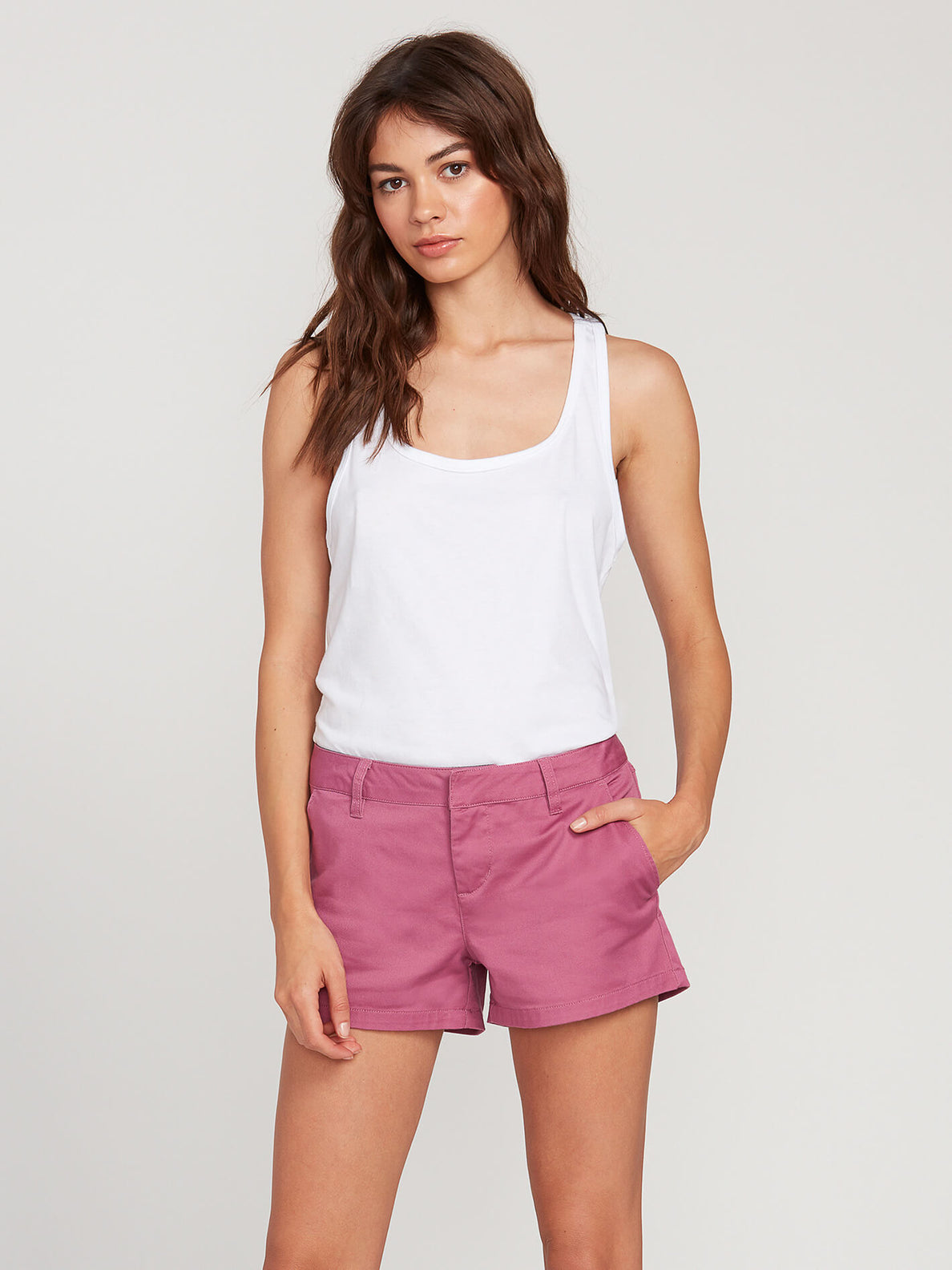 Frochickie Short - Mauve Rose (B0911800_MVR) [F]