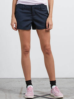 Frochickie Short In Navy, Front View