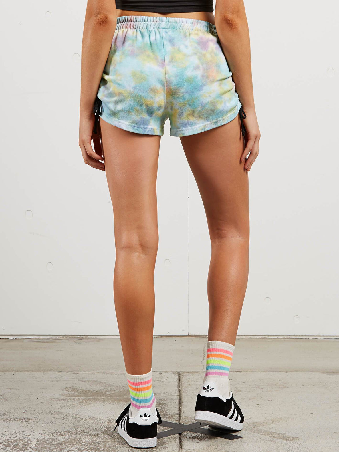 Bunney Cloud Shorts In Multi, Back View