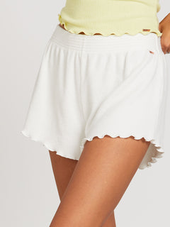 Lived In Lounge Shorts - Star White (B0922003_SWH) [50]