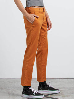 Frochickie Pant In Mustard, Alternate View