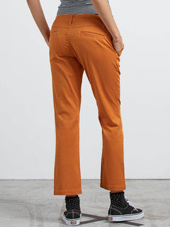 Frochickie Pant In Mustard, Back View