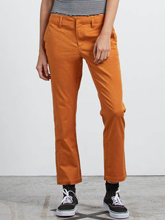 Frochickie Pant In Mustard, Front View