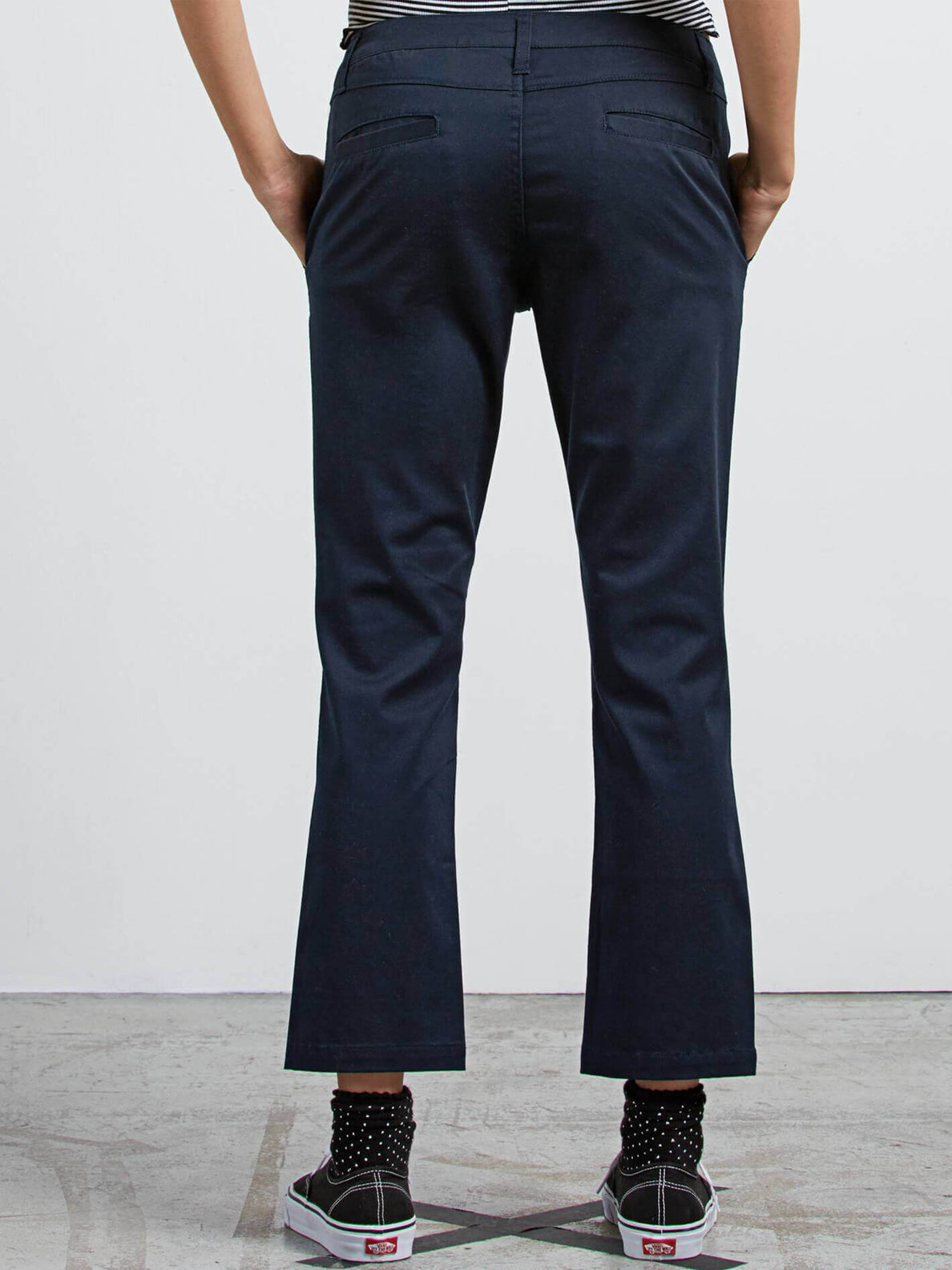 Frochickie Pants In Navy, Back View
