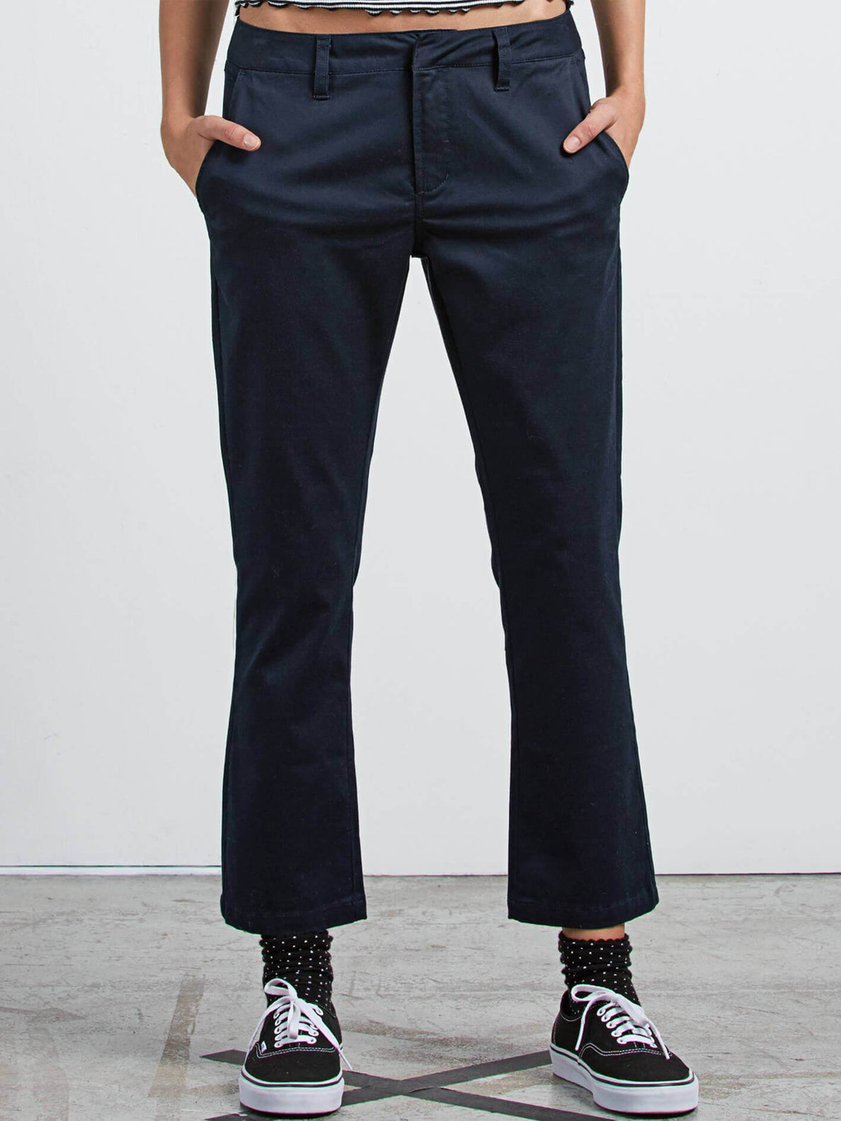 Frochickie Pants In Navy, Front View
