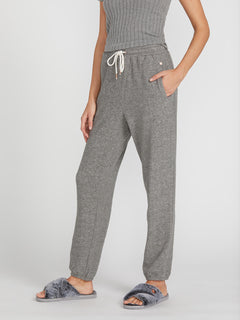 Lived In Lounge Fleece Pants - Charcoal Grey (B1111801_CHR) [2]