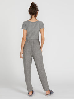 Lived In Lounge Fleece Pants - Charcoal Grey (B1111801_CHR) [B]