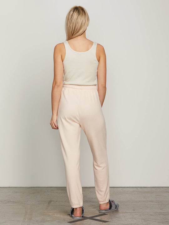 Lived In Lounge Fleece Pants - Cloud Pink