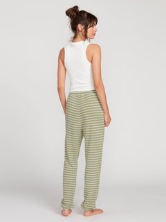 Lived In Lounge Fleece Pant - Dusty Green