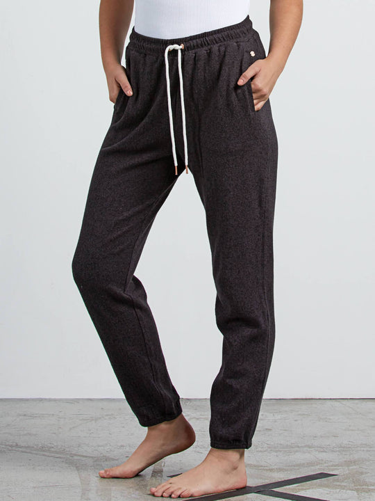 Lil Fleece Pants - Vintage Black
