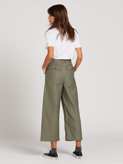 Army Whaler Wide Leg - Army Green Combo (B1112000_ARC) [B]