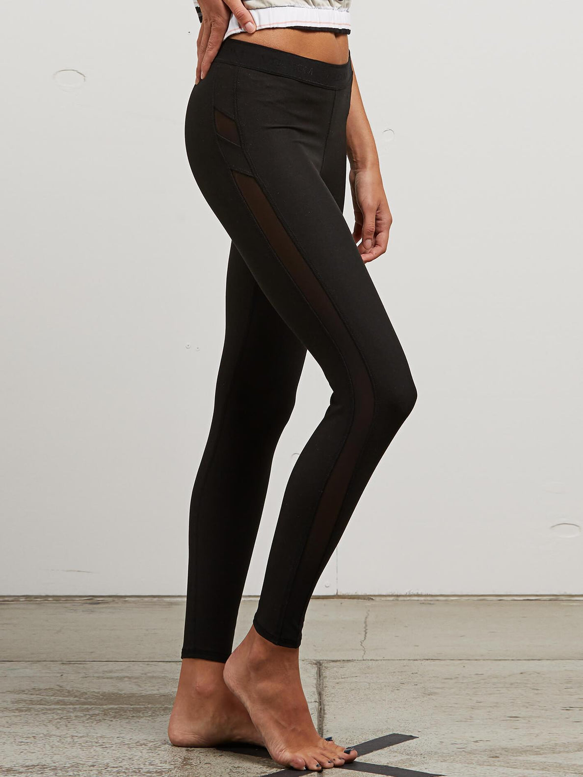 Lived In Lounge Leggings In Black, Alternate View