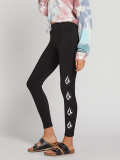 Deadly Stones Leggings In Black, Alternate View