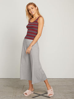 Lived In Lounge Pants In Heather Grey, Front View