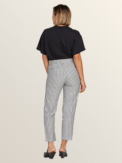Funday Strut Pants In Stripe, Back View
