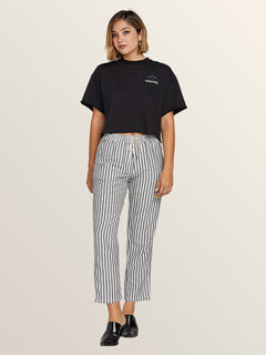 Funday Strut Pants In Stripe, Front View