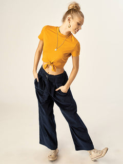 Cut The Cord Pant In Sea Navy, Alternate View