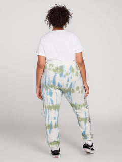 Vol Stone Fleece Pants Plus Size - Multi