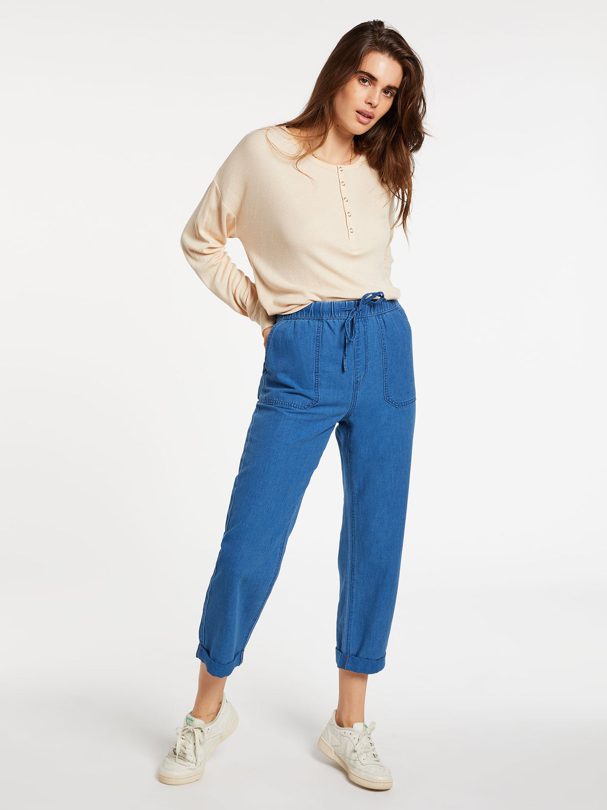 Sunday Strut Pants - Airforce Blue (B1232006_AFB) [F]