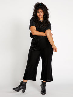 City At Night Pants - Black (B1241903P_BLK) [F]
