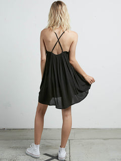 What A Stud Dress In Black, Back View