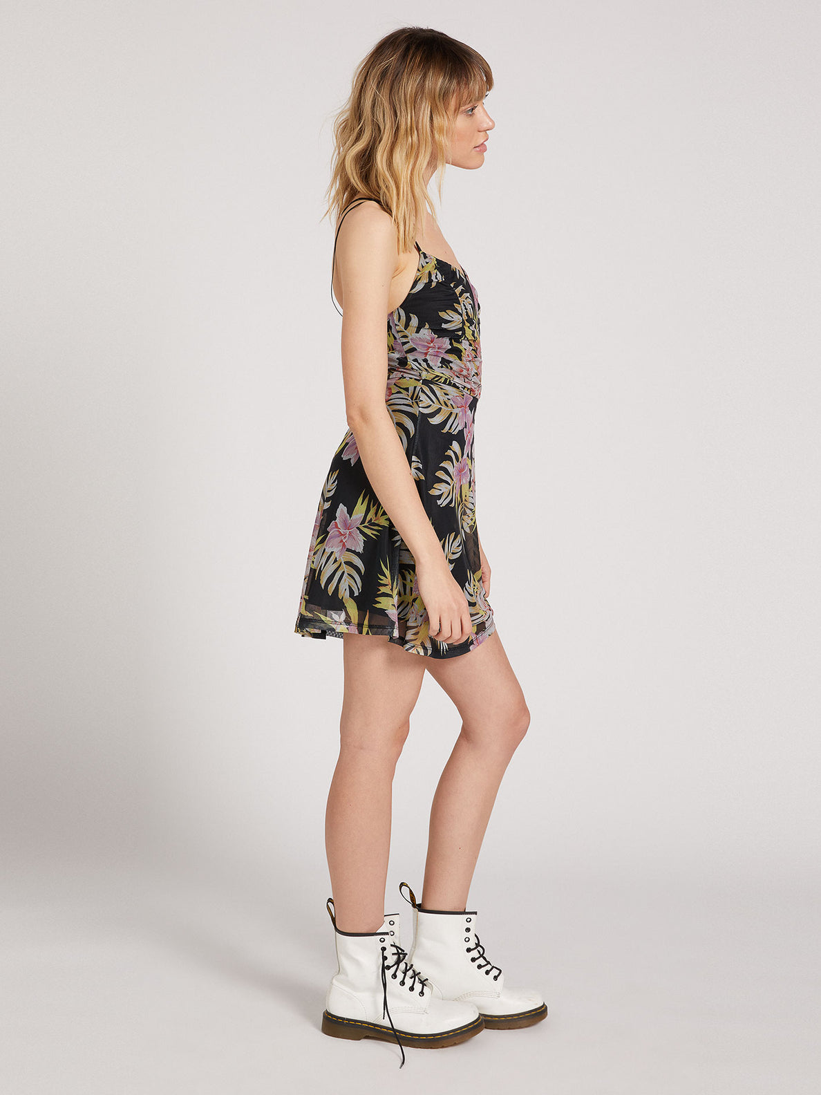 Slushy Hour Dress - Black Floral Print (B1311910_BFP) [1]