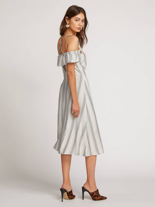 Winding Roads Dress In White Combo, Alternate View