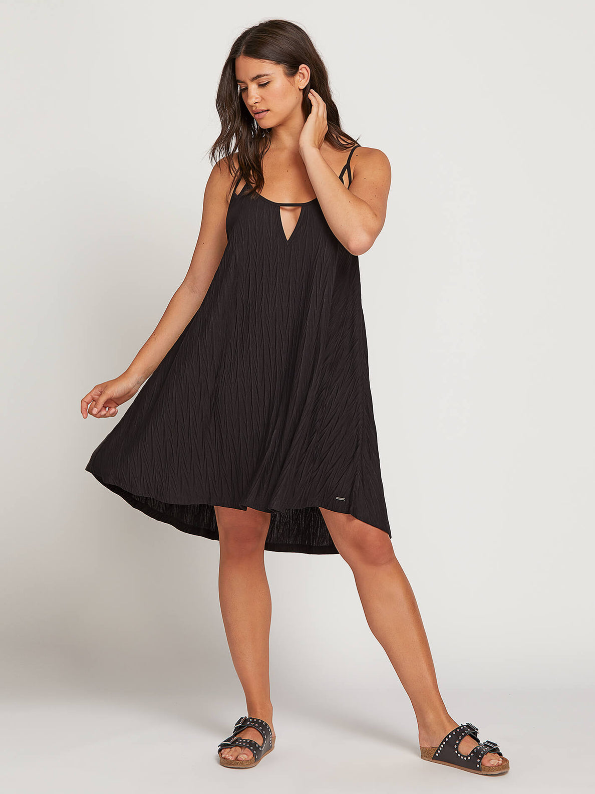Back 2 Mentality Dress In Black, Alternate Extended Size View