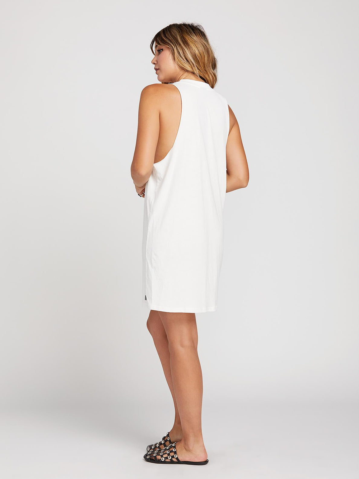 Day By Day Dress In White, Alternate View