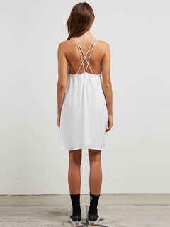 You Want This Dress In White, Back View