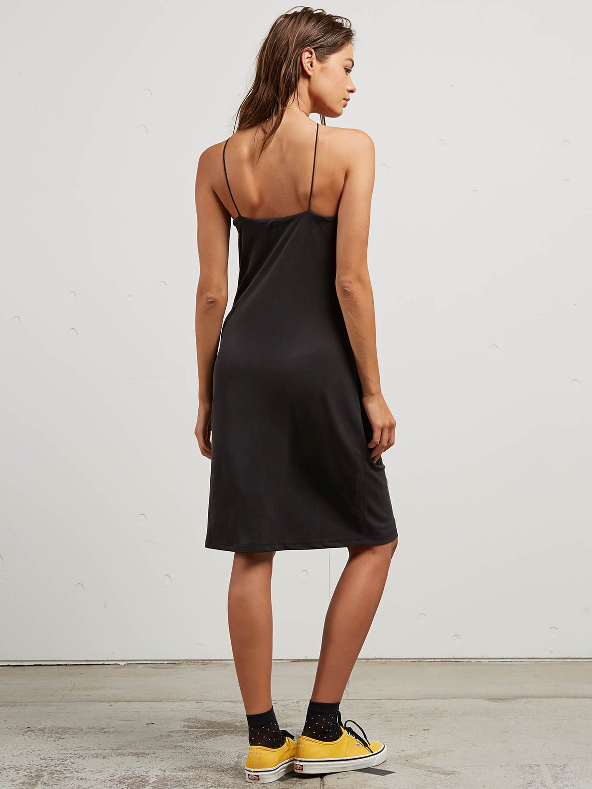 Mojo Dojo Dress In Black, Back View