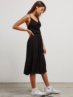 Mystic Mama Dress In Black, Alternate View