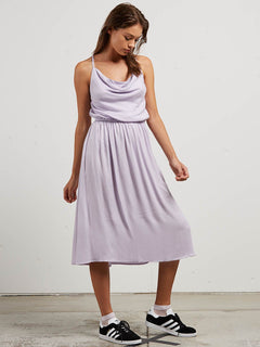 Mystic Mama Dress In Lavender, Alternate View