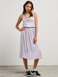 Mystic Mama Dress In Lavender, Front View
