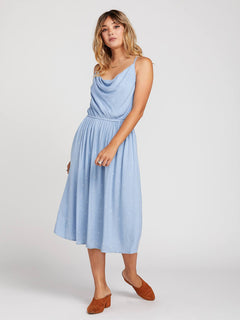 Mystic Mama Dress In Misty Blue, Alternate View