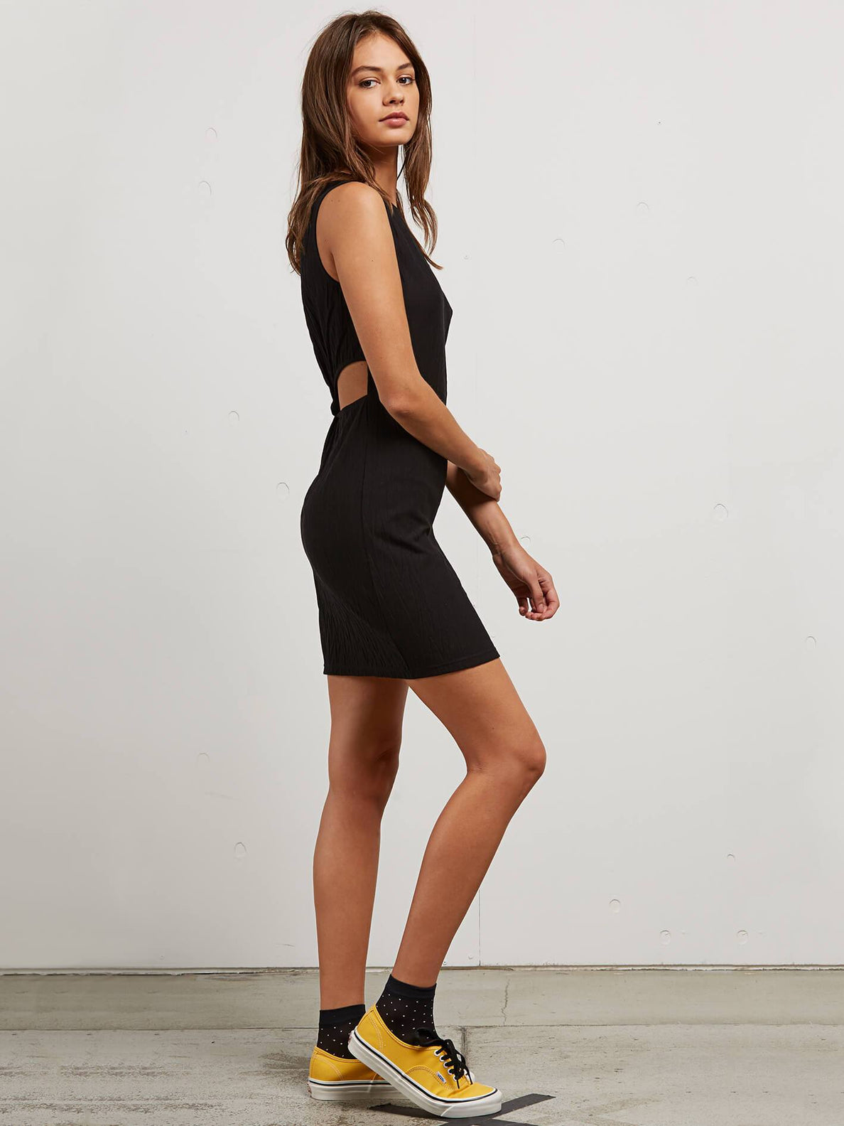Knot Yours Dress In Black, Alternate View