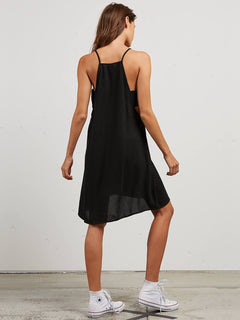Soul Window Dress In Black, Back View